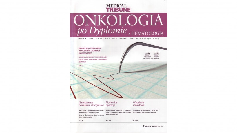 1 Okładka Medical Tribune