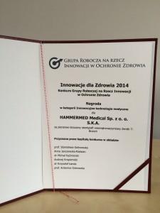 innowacje dla zdrowia 2014 2