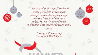 HAMMERmed kartka świąteczna  strona 1
